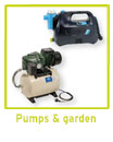 Pumps and garden